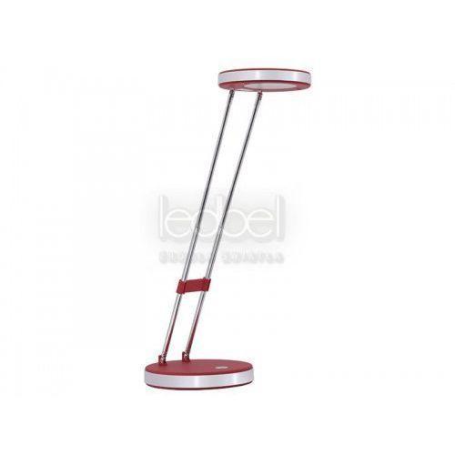 lampa LED TOKA czerwona 5W na biurko z kategorii oświetlenie