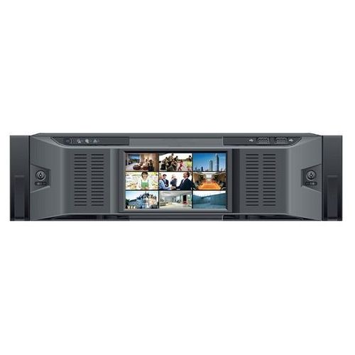 BCS-NVR12816DR Rejestrator sieciowy IP, 128 kanałów, redundantny zasilacz, 16 HDD SATA, eSata, RAID, HOT-SWAP, USB, LAN, 1VGA, 5HDMI, PTZ, Bitrate 384/384