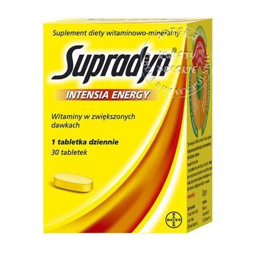 Supradyn Intensia Energy x 30tabl.powl., postać leku: tabletki