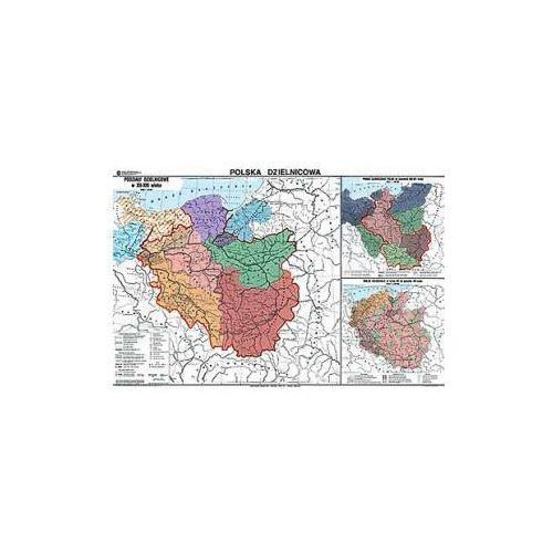 Produkt Polska dzielnicowa. Mapa ścienna., marki Nowa Era