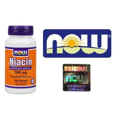 Now Foods Niacin (Niacyna) 500mg 100 tabl.