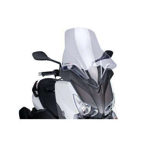 Artykuł Szyba PUIG V-Tech Touring do Yamaha X-Max 125/250 10-14 (przezroczysta) z kategorii pozostałe akcesoria motocyklowe