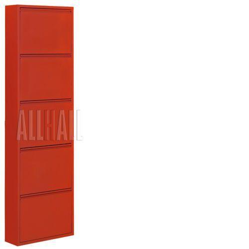Szafka na buty HOME HB 5 - czerwony, marki AllHall do zakupu w Meble Pumo
