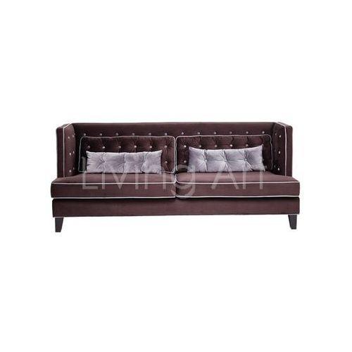 Sofa Denver Velvet 3-Seater 215cm, kare design