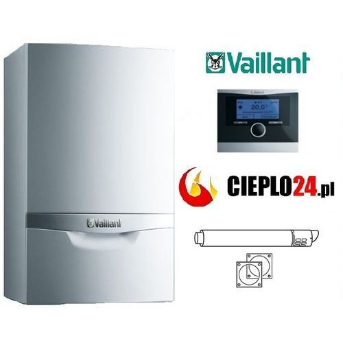 Towar  ecoTEC VCW Plus 296/5-5 + calormatic 470 + komin pakiet 12 kod 0010011716-RH z kategorii kotły gazowe
