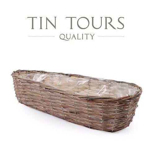 Produkt OWALNA BALKONÓWKA WIKLINOWA 58x20x14 cm, marki Tin Tours Sp.z o.o.