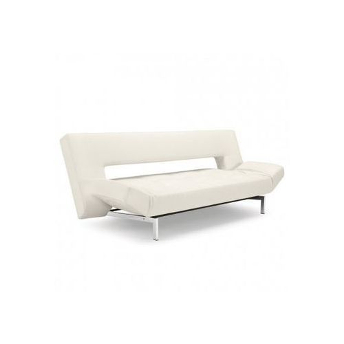 Istyle Innovation Wing Sofa Rozkładana Biała Skóra Ekologiczna 200x96 cm (742001588)