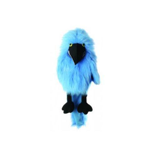 Papuga ara hiacyntowa - pacynka wydająca dźwięki (pacynka, kukiełka)