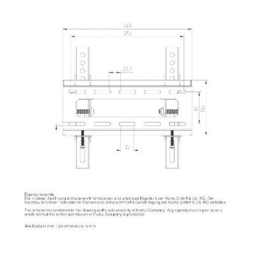 Uchwyt  lcd/led, vesa 200x200 motion l od producenta Hama