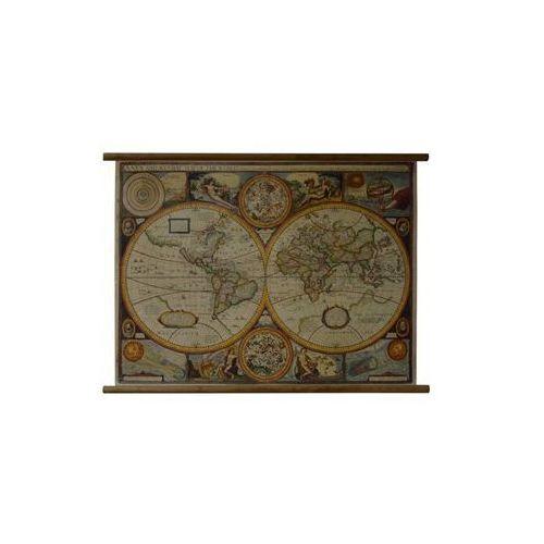Świat mapa ścienna antyczna  & Berndt, produkt marki Freytag