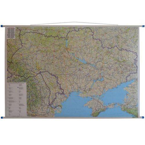 Ukraina i Mołdawia. Mapa ścienna samochodowa 1:1 mln wyd. , produkt marki Freytag&Berndt