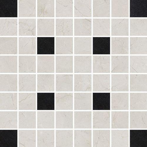 Light Marble Grey Mosaic Square 29x29 (glazura i terakota)