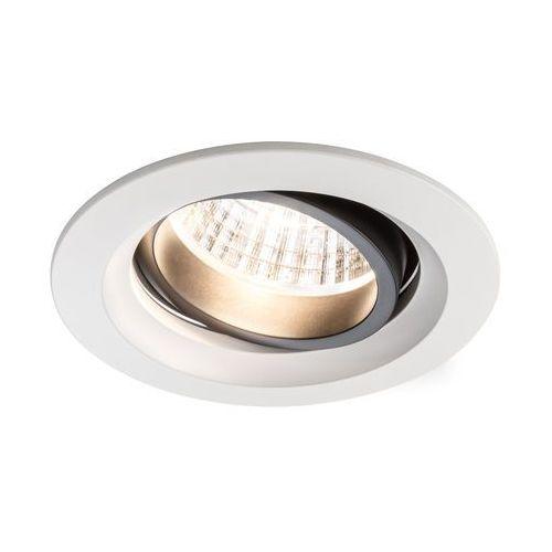 Daz LED oprawy 2x7W trafo 18VA białymat/alu z kategorii oświetlenie