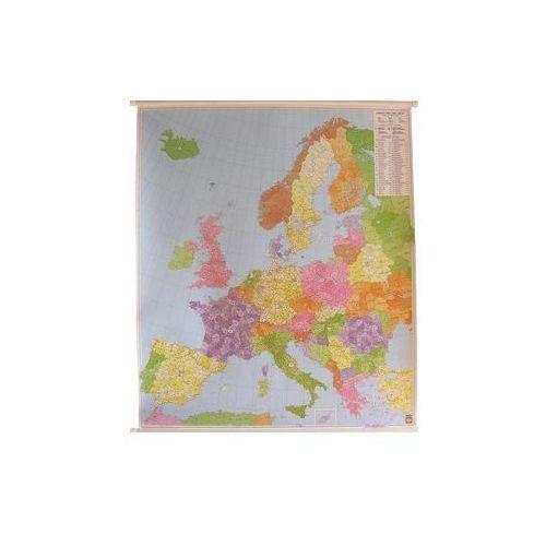 Europa mapa ścienna kody pocztowe 1:3 700 000  & Berndt, produkt marki Freytag