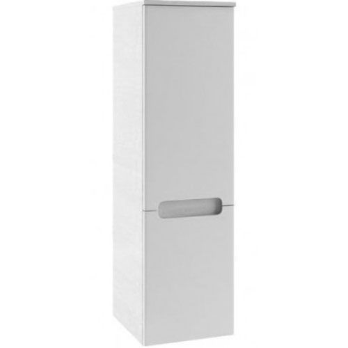 Produkt z kategorii- regały łazienkowe - CLASSIC - Słupek boczny SB-350, biały/biały, P