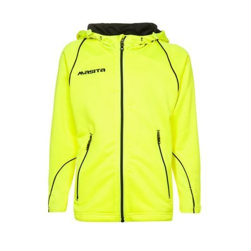 Masita Kurtka sportowa neon yellow/black (kurtka dziecięca) od Zalando.pl