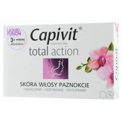 Capivit Total Action kaps. x 30, postać leku: kapsułki