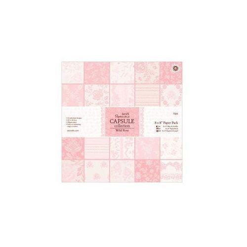 Oferta Zestaw papierów 20,3x20,3 cm Papermania Capsule WILD ROSE 32 kartki