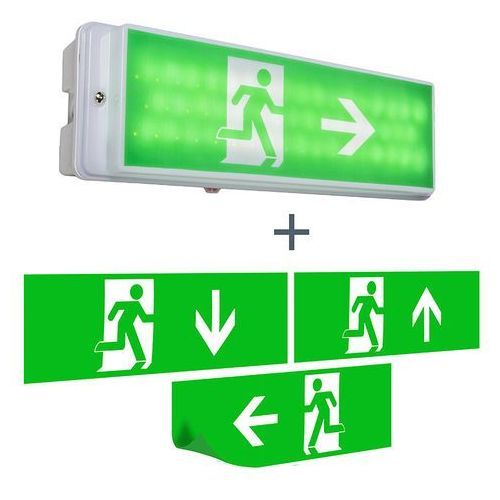 Kinkiet Emergency 2 od lampyiswiatlo.pl
