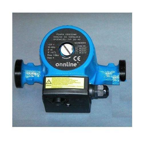 Towar Onnline pompa 25-40 obiegowa do CO kod 16593410 z kategorii pompy cyrkulacyjne