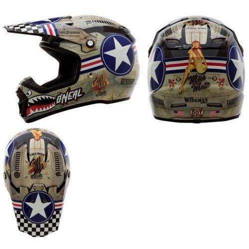 Kask Motocross O'neal Wingman z kategorii kaski motocyklowe