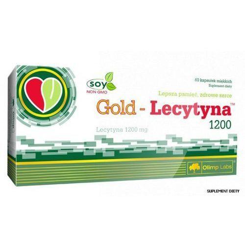 OLIMP Gold Lecytyna 1200 mg 60 kaps., postać leku: kapsułki