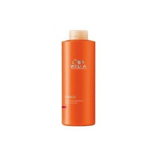 Wella Enrich Conditioner Normal Hair 1000ml W Odżywka do włosów normalnych i cienkich - produkt z kategorii- odżywki do włosów
