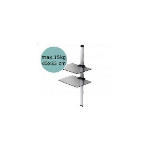 Sonorous PL2620 - Panel cienny pod sprzt, srebrny z kategorii półki rtv