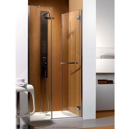 Carena DWJ Radaway drzwi wnękowe 1193-1205x1950 chrom szkło przejrzyste prawe - 34332-01-01NR (drzwi pryszni