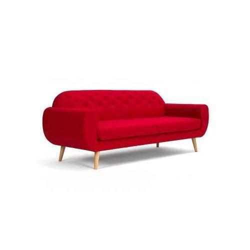 Sofa 3-os SCARLET czerwona