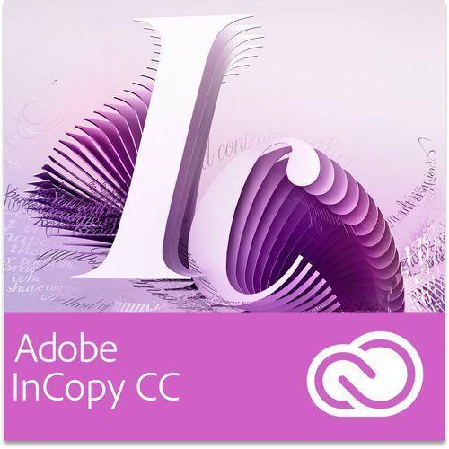 Produkt z kategorii- pozostałe oprogramowanie - Adobe InCopy CC GOV for Teams Multi European Languages Win/Mac - Subskrypcja (12 m-ce)