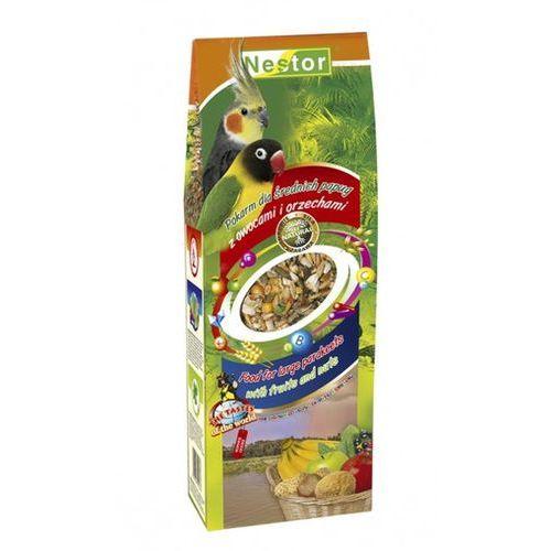 NESTOR Pokarm dla średnich papug z owocami i orzechami 700ml