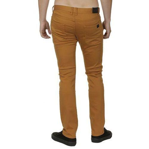 jeansy Quiksilver Distorsion Twill - CPB0/Maple - produkt z kategorii- spodnie męskie
