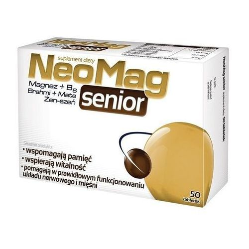 NeoMag Senior, tabl., 50 szt, postać leku: tabletki