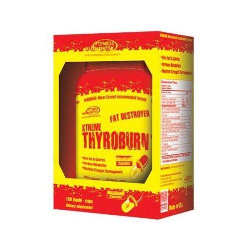 xtreme thyroburn 120 kap. wyprodukowany przez Fitness authority