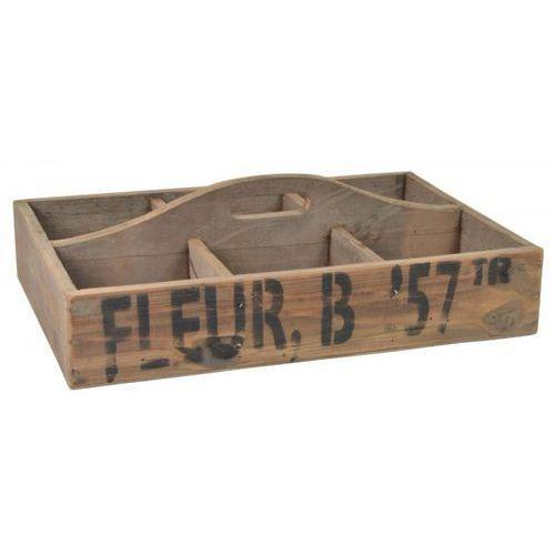 Pudełko z Napisem oraz 6 Przegródkami i Uchwytem Ib Laursen 5255-14 - produkt dostępny w sfmeble.pl