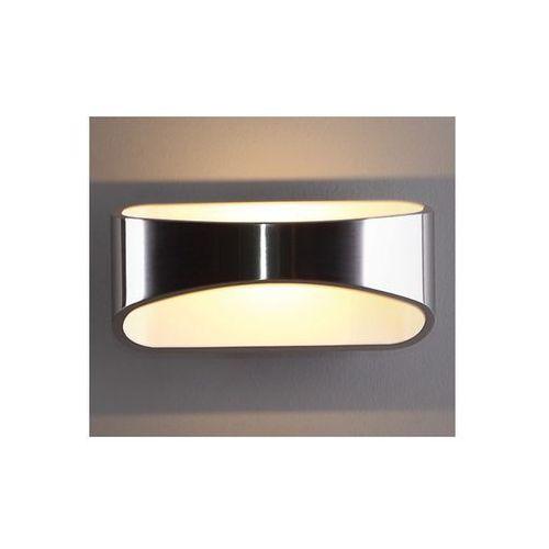LAMPA kinkiet OPRAWA ścienna DO sypialni LED HUGO MAXLIGHT W0053 aluminium biały, produkt marki Maxlight