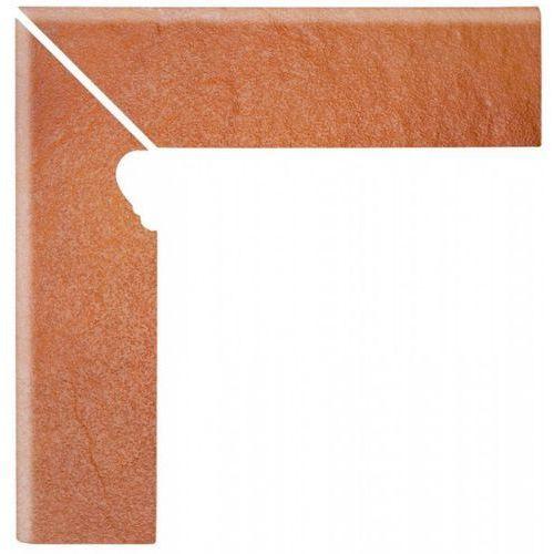 Solar Orange Cokół Schodowy Lewy 3-D 30x8 (glazura i terakota)