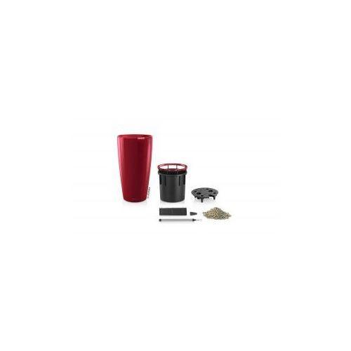 Produkt Donica -  - Rondo 32 - czerwony scrlet połysk, marki Lechuza