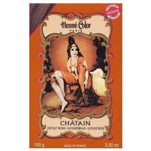 Cosmetics Natural Colour Cream - Henna w proszku Chatain/Kasztan 100g - szczegóły w Pachnidełko