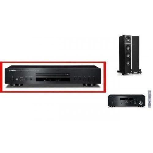 YAMAHA R-N301 + CD-S300 + KEF Q500 czarne - Tanie Raty za 1%