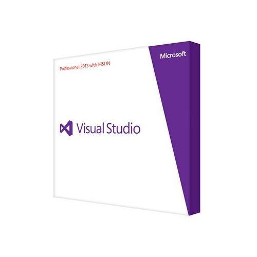 Produkt VS Pro w/MSDN Retail 2013 English Programs DVD
