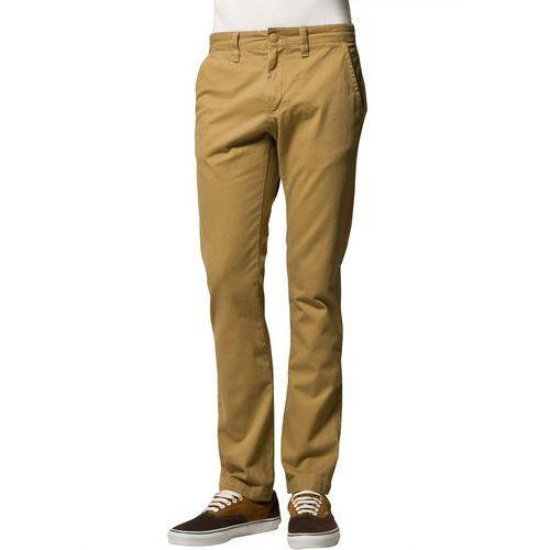 Produkt z kategorii- spodnie męskie - Vans EXCERPT Chinosy brązowy