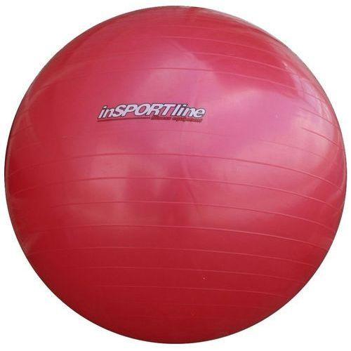 Piłka gimnastyczna z pompką 65cm Top Ball  IN3910 - Red, produkt marki Insportline