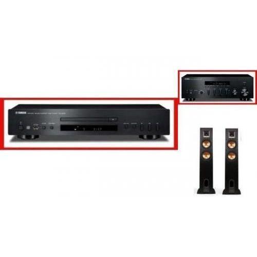 YAMAHA R-S500 + CD-S300 + KLIPSCH R-26 - Tanie Raty za 1%