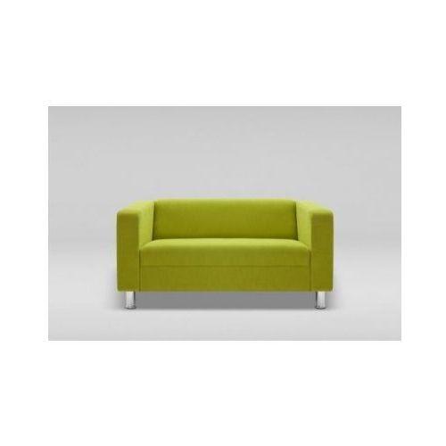 Sofa CUBBY dwuosobowa skóra naturalna / nogi chrom, Marbet Style