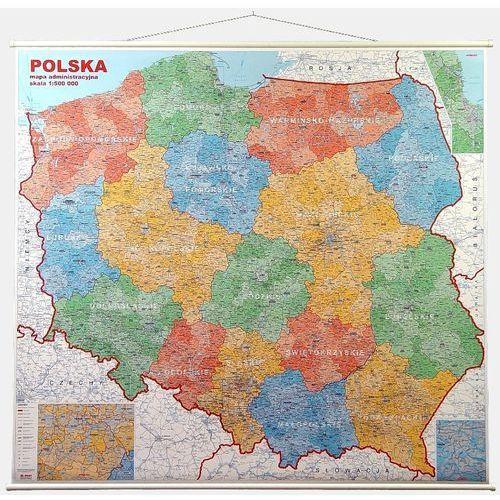 Polska. Mapa ścienna administracyjna 1:500 000 wyd. , produkt marki Jokart