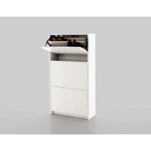 Szafka na buty Simon 120,2 cm, biały, matowy, marki Actona Company do zakupu w FUTURI Nowoczesne Meble