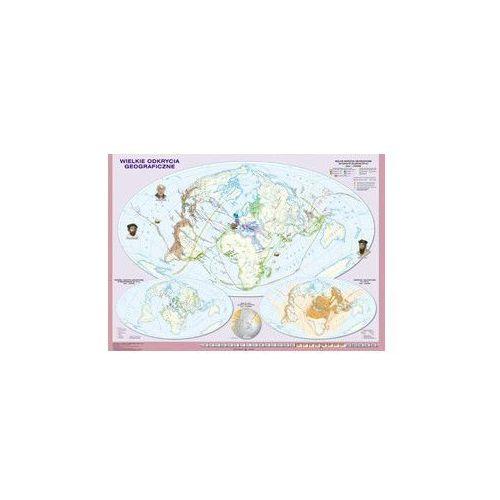 Historia na mapach. Wielkie odkrycia geograficzne. Mapa ścienna. , produkt marki Nowa Era