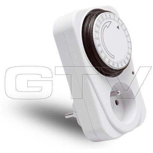 GTV Programator czasowy mechaniczny dobowy PC-MECH24-00 z kategorii oświetlenie